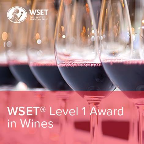 WSET Level 1 Award in Wine incl vineyard tour tasting & lunch