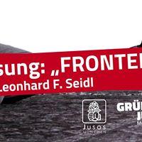 Lesung Fronten mit Leonhard F. Seidl