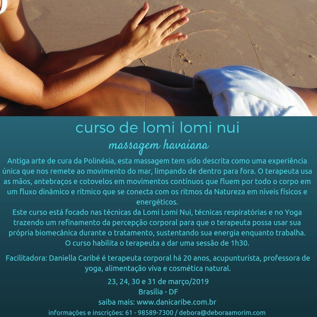 Curso de Lomi Lomi Nui - massagem havaiana
