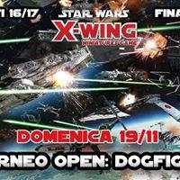 XWING -4torneo OPEN Dogfight - Festa di fine Lega 1617
