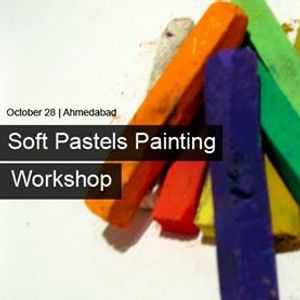 Painting with soft pastels