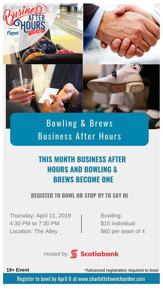 2019 Bowling & Brews and Business After Hours