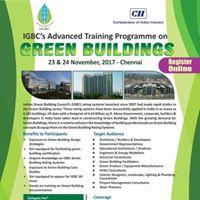 Advanced Training Programme on Green Buildings - Chennai