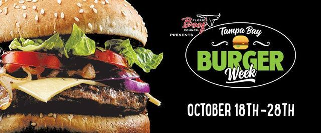 Florida Beef Council presents Tampa Bay Burger Week 2018