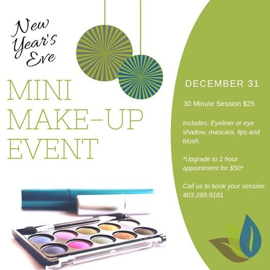 New Years Eve  Mini Make-up Event