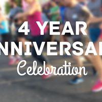 4 Year Anniversary Celebration