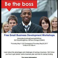 Be The Boss Business Development Workshop
