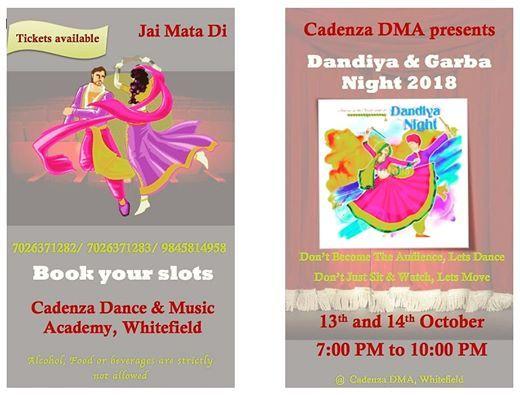 Dandiya And Garba Night