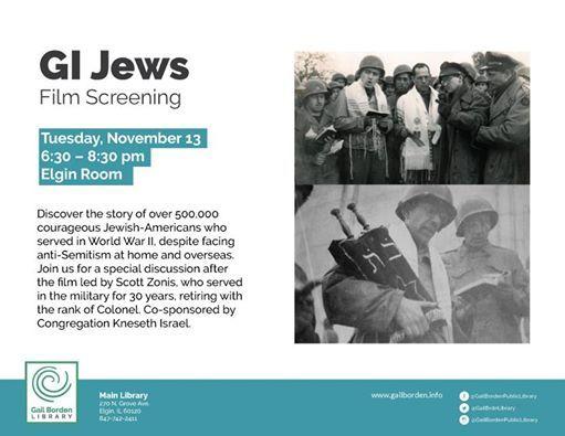 GI Jews Film Screening