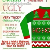 Prov Middle School Ugly Christmas Sweater Party