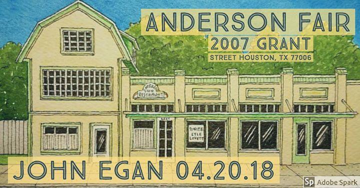 John Egan Live at Anderson Fair