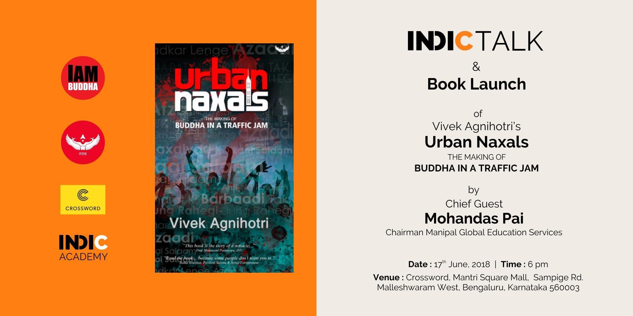 Book Launch Urban Naxals by Vivek Agnihotri