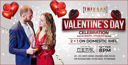 Valentines Day Celebration Ft. DJ Deepak