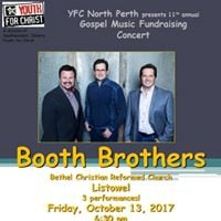 Booth Brothers Concerts (Friday Saturday matinee and evening