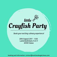 The Little Crayfish party on Restaurant Day