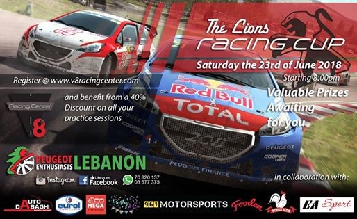 The Lions Racing Cup