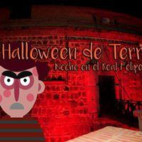 Halloween de Terror Noche en el Real Felipe