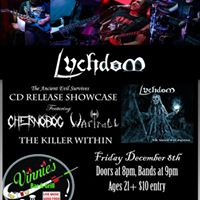 Lychdom Cd Release with Chernobog WarTroll Killer Within