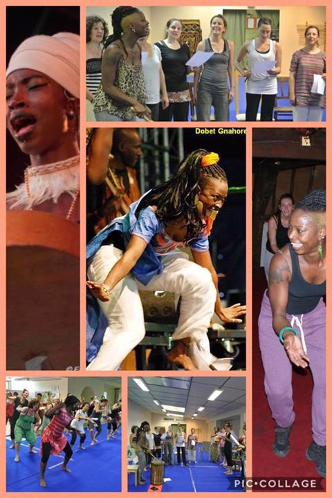 PAN AFRICAN DANCE and SINGING WORKSHOP with DOBET GNAHORE