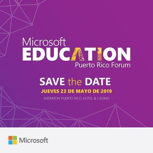 Microsoft Education Puerto Rico Forum 2019