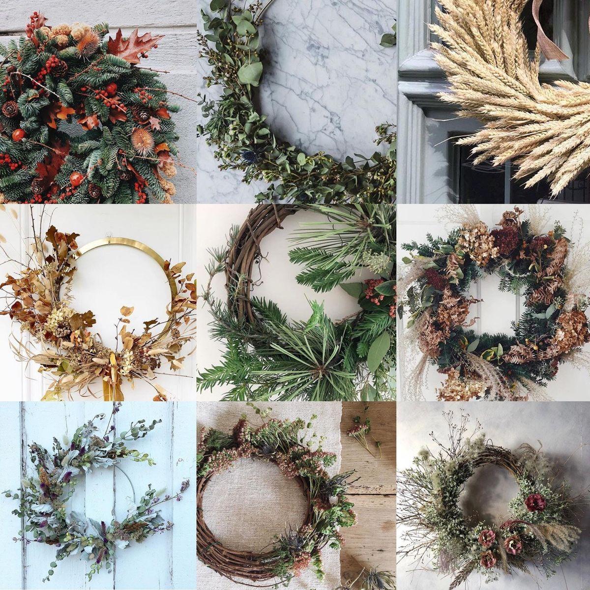 Botanical Wreath Making