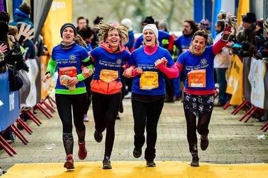 De 100km-run voor Kom op tegen Kanker 2de editie