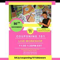 Couponing 101 Workshop (Delaware)