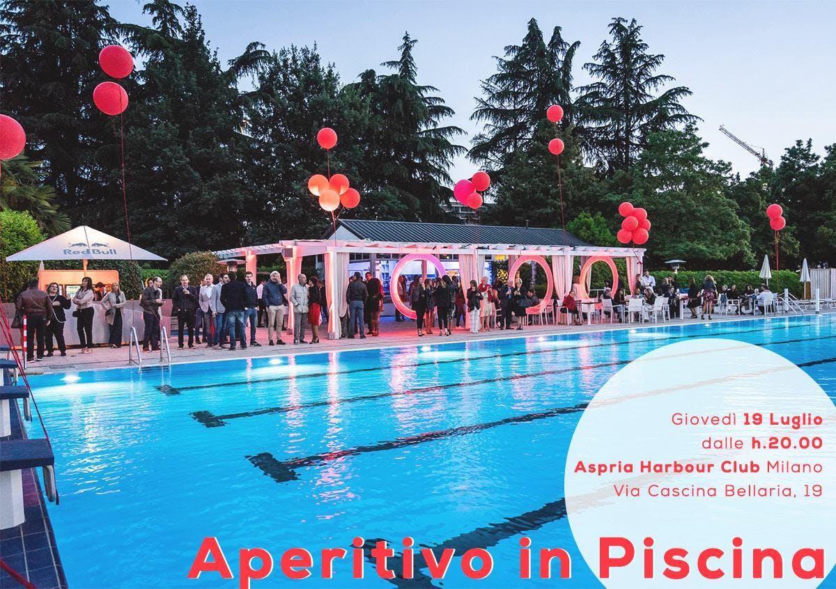 Aperitivo in Piscina  Harbour Club - AmaMi Communication