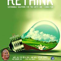 Rethink Sustainable Solutions wDevamrita Swami