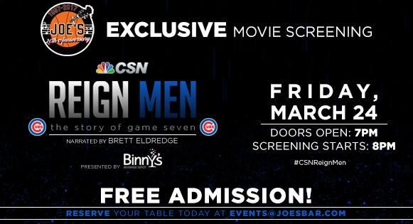 Reign Men Screening