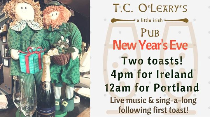 New Years Eve at the Pub! | Portland