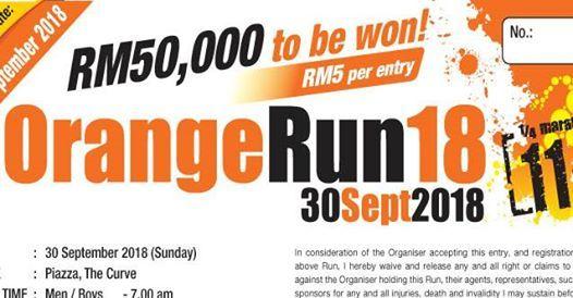 BHP Orange Run 2018