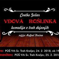 Vdova Rolinka - komedija v treh dejanjih