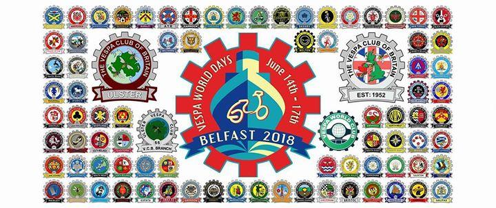 Vespa Club Romania to Vespa World Days 2018 Belfast