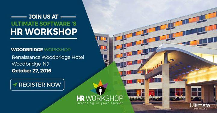 Calendar Woodbridge : Woodbridge nj hr workshop at renaissance hotel