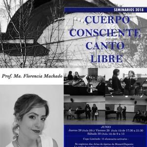 Cuerpo Consciente Canto Libre - por Ma Florencia Machado