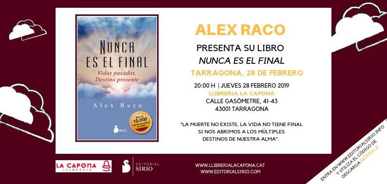 Presentacin libro de Alex Raco en La Capona Tarragona