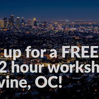 Reserve your spot for a Free 2 hour Amazon workshop in Irvine