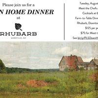 A Down Home Dinner at Rhubarb