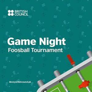Game Night Foosball Tournament