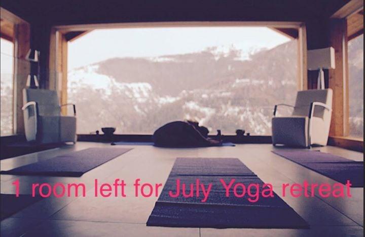 yoga meditation retreat switzerland 1 7 july 2018