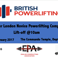 Greater London Novice Powerlifting Competition