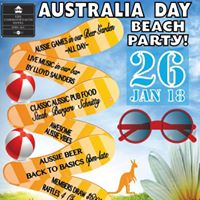 Australia Day Beach Party at The Comm