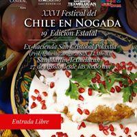 XXVI Festival del CHILE En Nogada