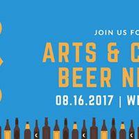 Arts &amp Craft Beer Night