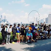 SCW Bike Cruise A Day At Singapore Flyer