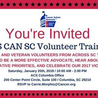ACS CAN SC Volunteer Training 2018