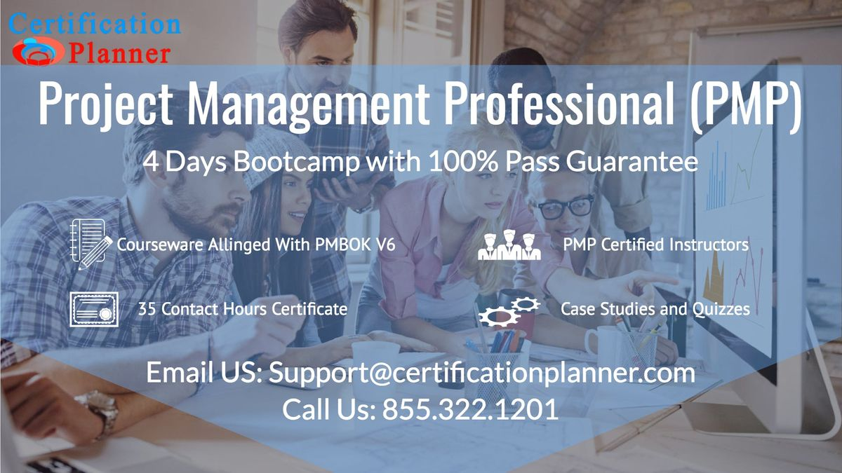 Project Management Professional Pmp 4 Days Classroom In Boston At
