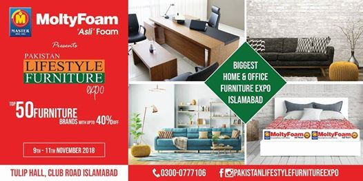 Pakistan Lifestyle Furniture Expo At Tulip Islamabad Islamabad
