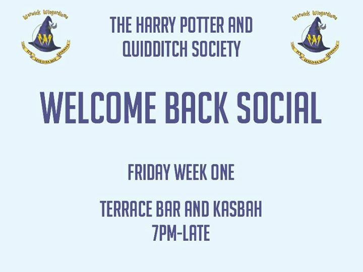 Welcome Back Social